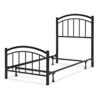 Fashion Bed Group Rylan Complete Full Kids Bed in Black