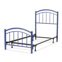 Fashion Bed Group Rylan Complete Full Kids Bed in Blue