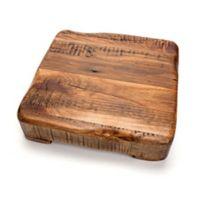 etuHOME® 8-Inch Square Reclaimed Wood Trivet
