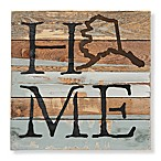Sweet Bird & Co. Alaska Home State Reclaimed Wood Wall Art