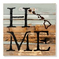 Sweet Bird & Co. Hawaii Home State Reclaimed Wood Wall Art