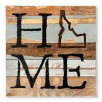 Sweet Bird & Co. Idaho Home State Reclaimed Wood Wall Art