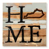 Sweet Bird & Co. Kentucky Home State Reclaimed Wood Wall Art