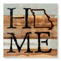 Sweet Bird & Co. Missouri Home State Reclaimed Wood Wall Art