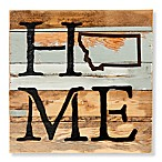 Sweet Bird & Co. Montana Home State Reclaimed Wood Wall Art