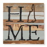 Sweet Bird & Co. New Hampshire Home State Reclaimed Wood Wall Art
