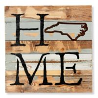 Sweet Bird & Co. North Carolina Home State Reclaimed Wood Wall Art