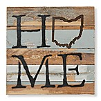 Sweet Bird & Co. Ohio Home State Reclaimed Wood Wall Art