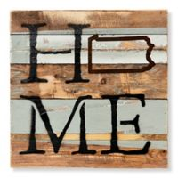 Sweet Bird & Co. Pennsylvania Home State Reclaimed Wood Wall Art