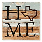 Sweet Bird & Co. Texas Home State Reclaimed Wood Wall Art