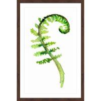Marmont Hill Thin Fern Leaf 2 16-Inch x 24-Inch Framed Wall Art