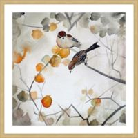 Marmont Hill Fall Birds 18-Inch Square Framed Wall Art