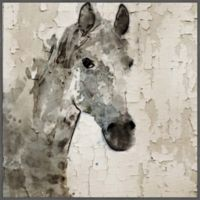 Marmont Hill Glaeta Horse 32-Inch Square Framed Wall Art