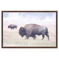Marmont Hill Scattered Herd 36-Inch x 24-Inch Framed Wall Art