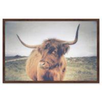 Marmont Hill Sideways Glance 36-Inch x 24-Inch Framed Wall Art