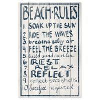 Marmont Hill Rest Relax Reflect 16-Inch x 24-Inch Wood Sign