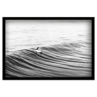 Marmont Hill Morning Glide 24-Inch x 16-Inch Shadow Box Canvas Wall Art