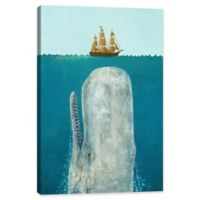 """iCanvas Terry Fan 40-Inch x 26-Inch """"The Whale"""" Canvas Wall Art"""