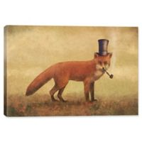 "iCanvas Terry Fan 40x60 ""Crazy Like a Fox"" Canvas Wall Art"