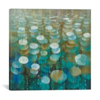 "iCanvas ""Raindrops"" Extra-Deep 18-Inch x 18-Inch Canvas Wall Art"