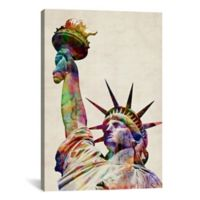"""iCanvas """"Statue of Liberty"""" Extra-Deep 12-Inch x 18-Inch Canvas Wall Art"""