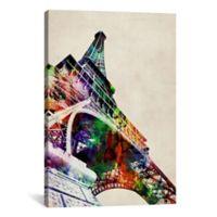 """iCanvas """"Eiffel Tower"""" 26-Inch x 40-Inch Canvas Wall Art"""