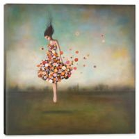 """iCanvas Duy Huynh 18-Inch Square Deep """"Boundlessness in Bloom"""" Canvas Wall Art"""