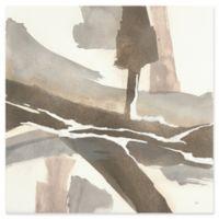 Trademark Fine Art White and Placid I 14-Inch Square Multicolor Canvas Wall Art