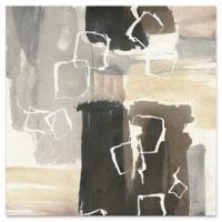 Trademark Fine Art Dancing Squares I 14-Inch x 14-Inch Canvas Wall Art