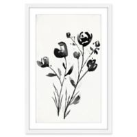 Marmont Hill Winter Flowers II 20-Inch x 30-Inch Wall Art