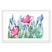 Marmont Hill Spring Poppy 18-Inch x 12-Inch Framed Wall Art