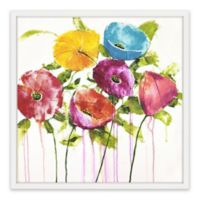 Marmont Hill Pop of Color II 48-Inch Square Framed Wall Art
