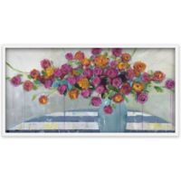 Marmont Hill Vase Overflow 60-Inch x 30-Inch Canvas Wall Art with Shadow Box