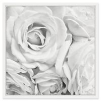 Marmont Hill Soft White Petals 32-Inch Square Framed Wall Art