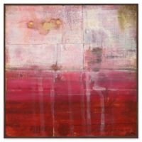 Marmont Hill Crimson 24-Inch x 24-Inch Canvas Wall Art