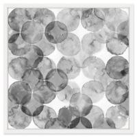 Marmont Hill Bubble Dimension 12-Inch x 12-Inch Framed Print Wall Art