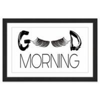 "Marmont Hill ""Morning Lashes"" 18-Inch x 12-Inch Framed Wall Art"