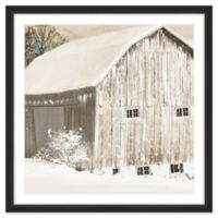 Marmont Hill Cold Winter Morning 24-Inch x 24-Inch Wall Art