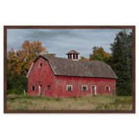 Marmont Hill Iconic Red 30-Inch x 24-Inch Framed Wall Art