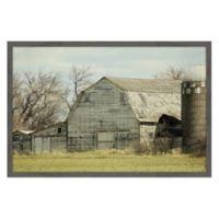 Marmont Hill Barn Profile 24-Inch x 16-Inch Framed Wall Art