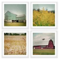 Marmont Hill Farm Perspective 96-Inch sq. Framed Wall Art (Set of 4)