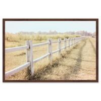 Marmont Hill Endless Field 18-Inch x 12-Inch Framed Wall Art