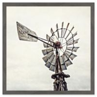 Marmont Hill Iconic Windmill 12-Inch Square Framed Wall Art