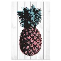 Marmont Hill Pineapple 16-Inch x 24-Inch Wood Wall Art