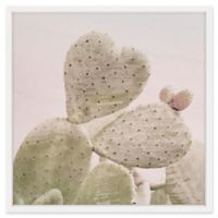 Marmont Hill Prickly Pear Wonder 32-Inch Square Framed Wall Art