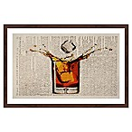 Marmont Hill Liquor Splash 12-Inch x 18-Inch Framed Wall Art
