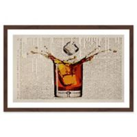 Marmont Hill Liquor Splash 20-Inch x 30-Inch Framed Wall Art