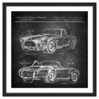 Marmont Hill 1965 Shelby Cobra 40-Inch x 40-Inch Framed Wall Art