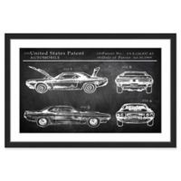 Marmont Hill 1969 Boss Mustang 36-Inch x 24-Inch Framed Wall Art