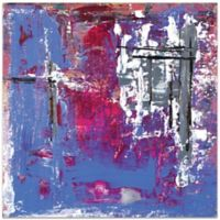 Metal Art Studio Urban Life 7 Plexiglass Abstract Wall Art in Red